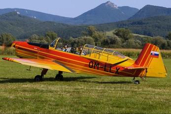 OM-LLX - Slovensky Narodny Aeroklub Zlín Aircraft Z-226 (all models)