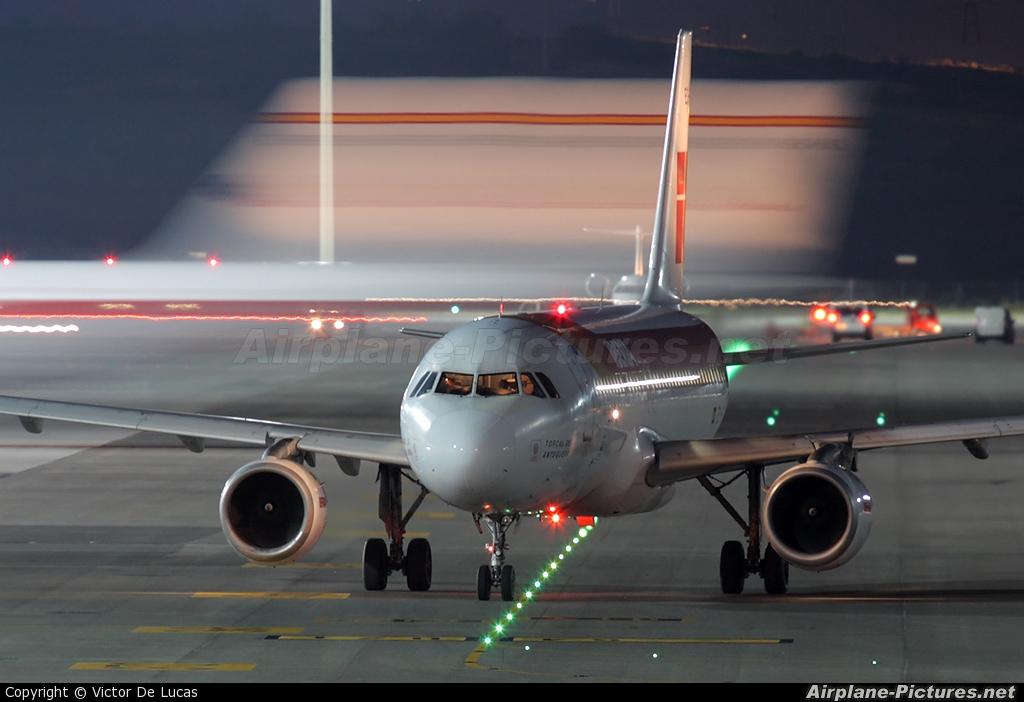 Iberia EC-FLP aircraft at Madrid - Barajas