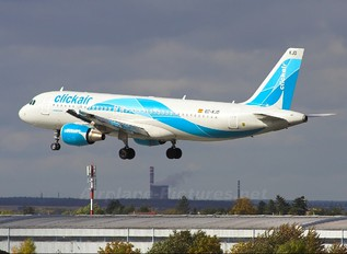 EC-KJD - Clickair Airbus A320