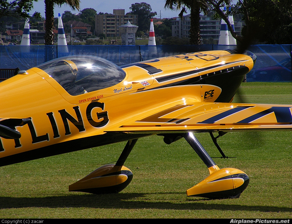 Breitling Devils N540XS aircraft at Perth - Langley Park, WA