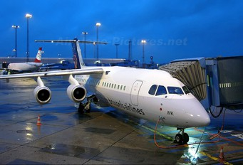 OO-DWK - Brussels Airlines British Aerospace BAe 146-300/Avro RJ100
