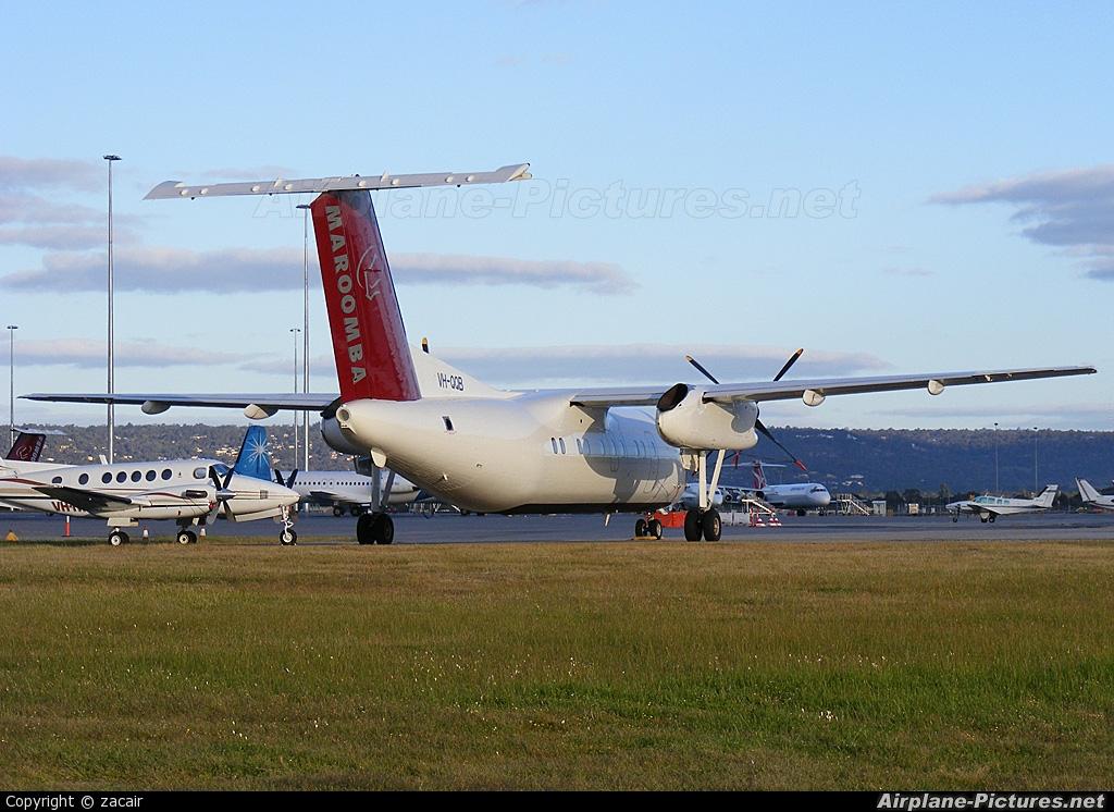 Maroomba Airlines VH-QQB aircraft at Perth, WA