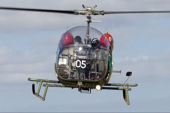 NZ3705 - New Zealand - Air Force Bell 47G