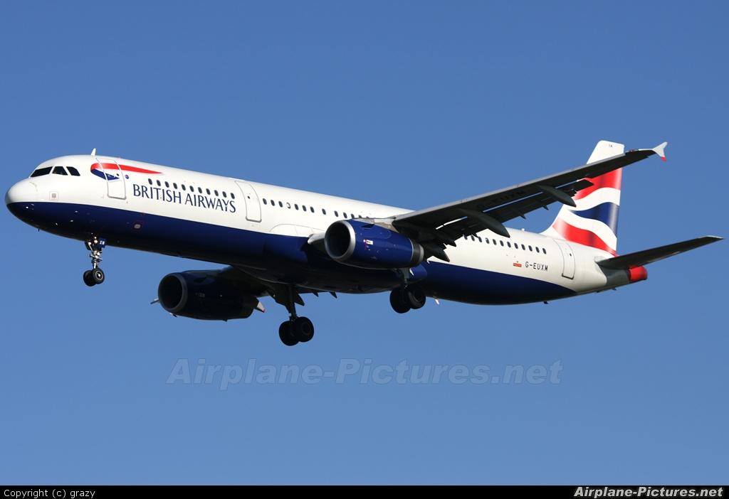 British Airways G-EUXM aircraft at London - Heathrow