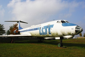 SP-LHE - LOT - Polish Airlines Tupolev Tu-134A