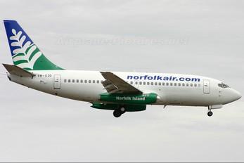 VH-OZD - Norfolkair Boeing 737-200