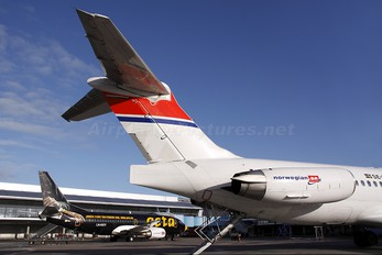 SE-DLV - Norwegian Air Shuttle McDonnell Douglas MD-83