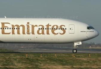 A6-EBC - Emirates Airlines Boeing 777-300ER