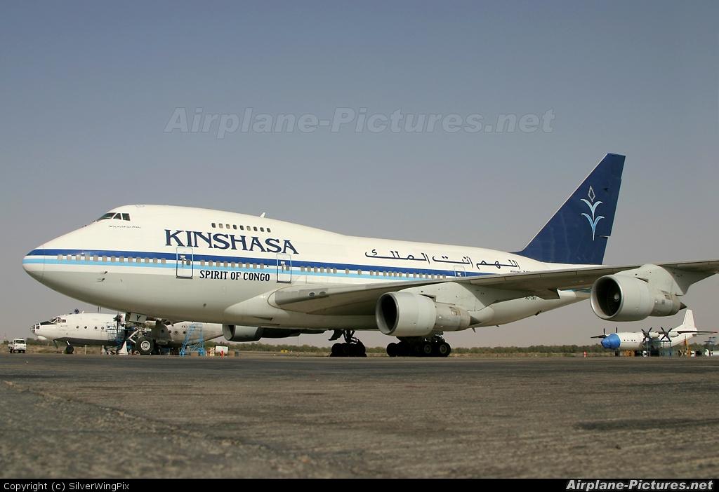 Kinshasa Airways 9Q-CWY aircraft at Sharjah Intl