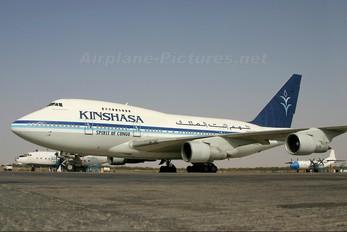 9Q-CWY - Kinshasa Airways Boeing 747SP