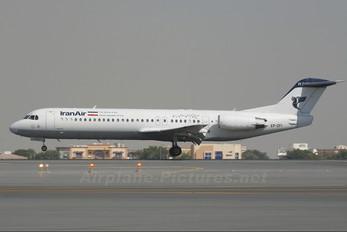 EP-CFI - Iran Air Fokker 100
