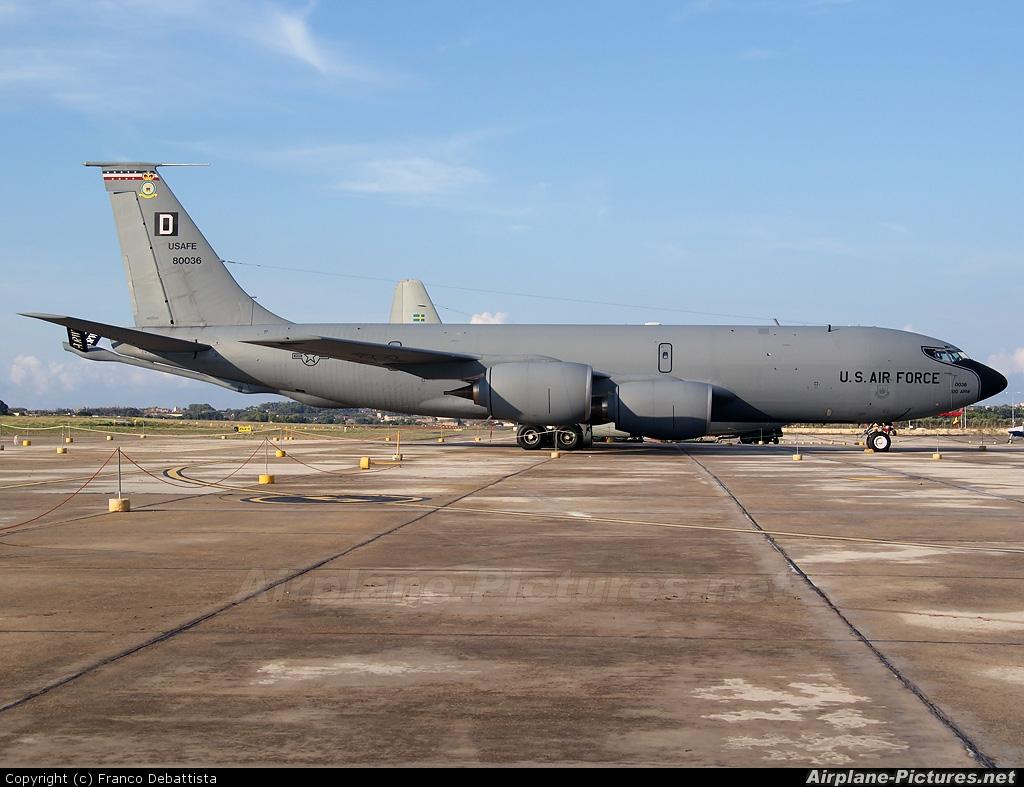 USA - Air Force 58-0036 aircraft at Malta Intl