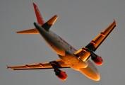 G-EZAH - easyJet Airbus A319 aircraft