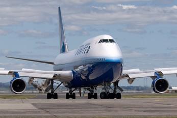 N105UA - United Airlines Boeing 747-400