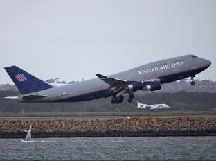 N181UA - United Airlines Boeing 747-400