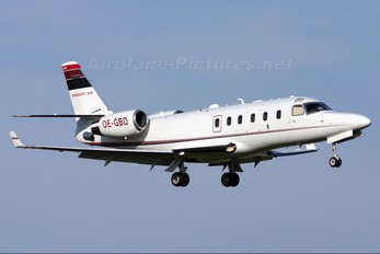 OE-GBD - Bannert Air Israel IAI 1125 Astra SP