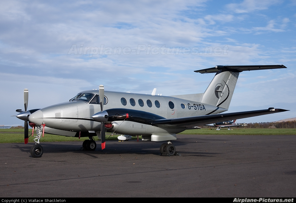 Synergy Aircraft Leasing G-SYGA aircraft at Perth - Scone