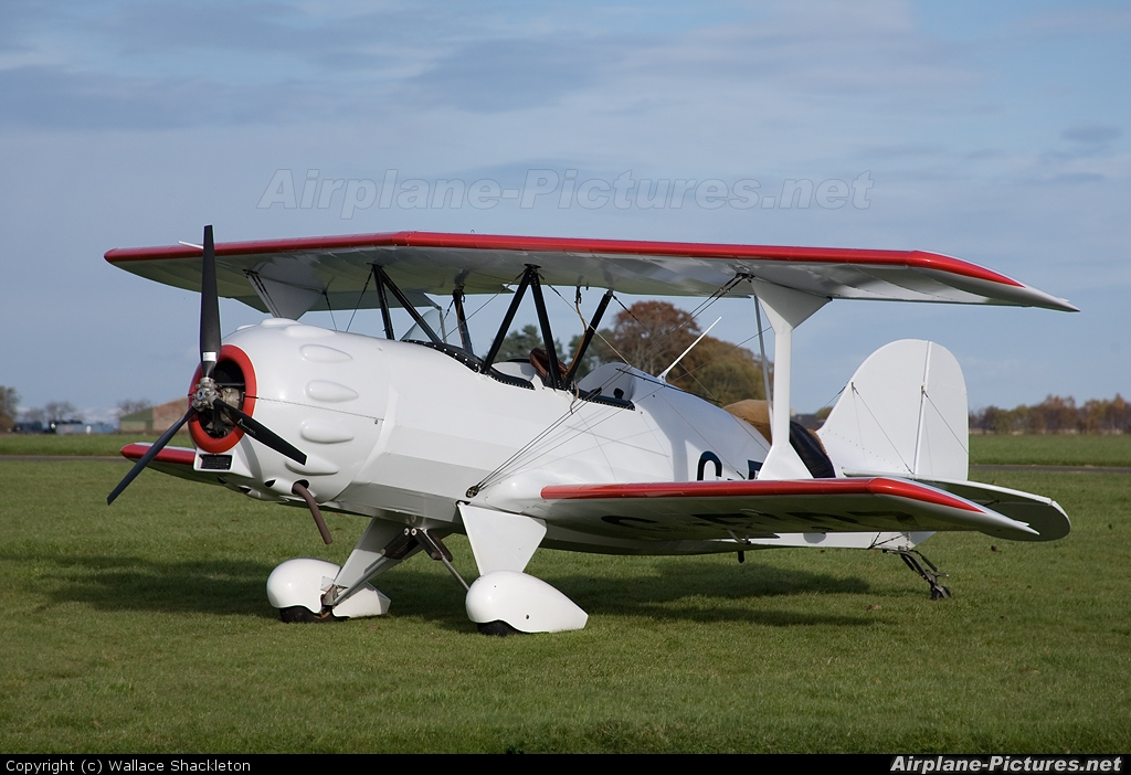 Private G-FIRZ aircraft at Perth - Scone