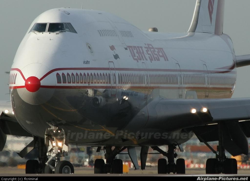 Air India VT-ESN aircraft at London - Heathrow