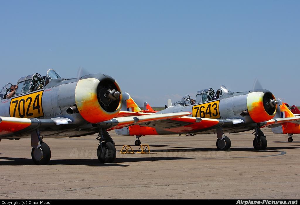 Harvard Club of South Africa ZU-AOO aircraft at Swartkops