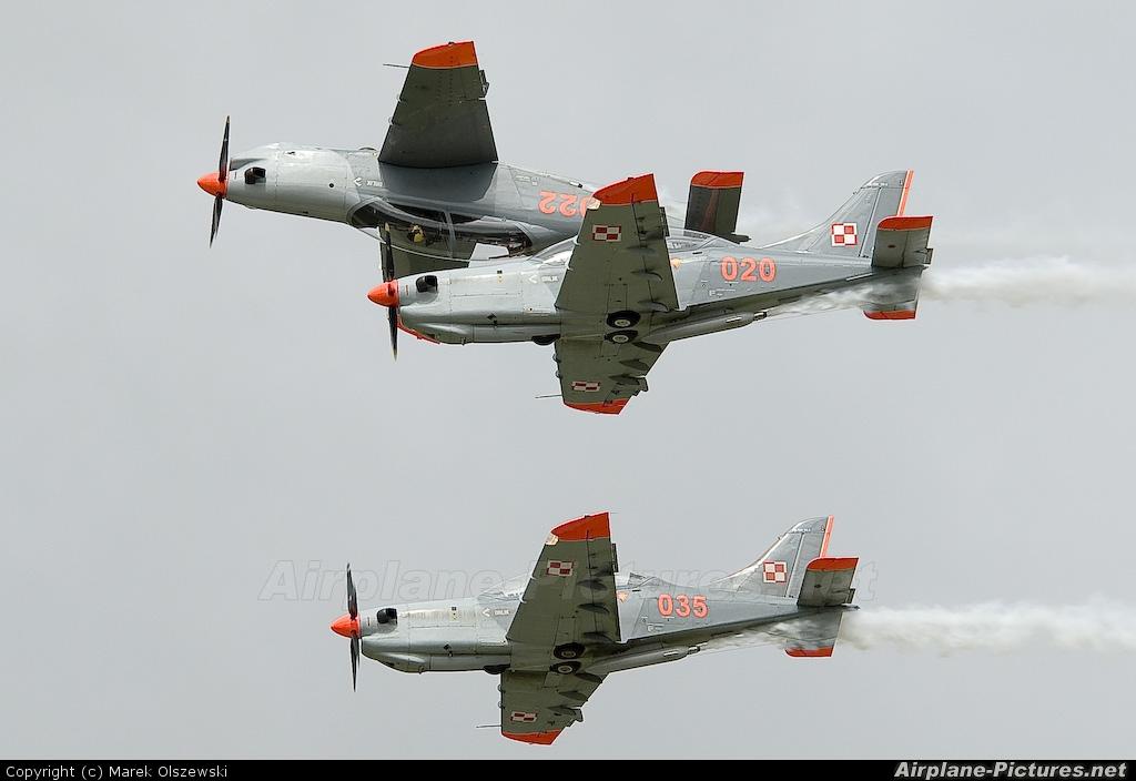 "Poland - Air Force ""Orlik Acrobatic Group"" 020 aircraft at Mińsk Mazowiecki"