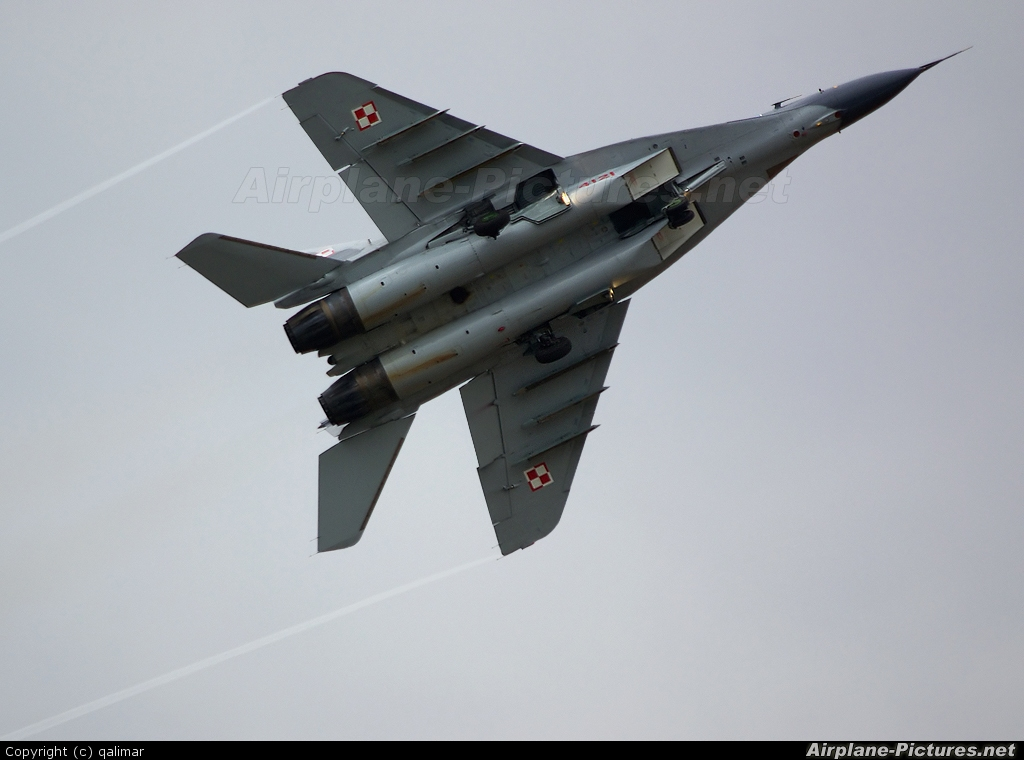 Poland - Air Force 4121 aircraft at Radom - Sadków