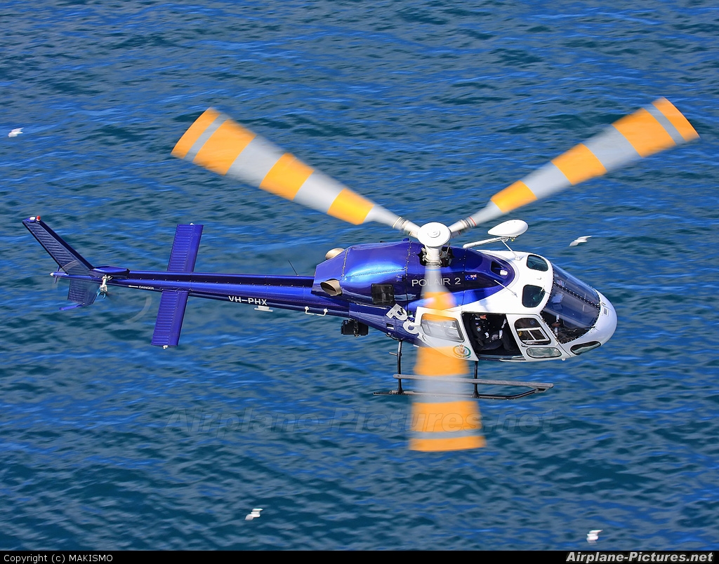 Australia - Police VH-PHX aircraft at Off Airport - Australia