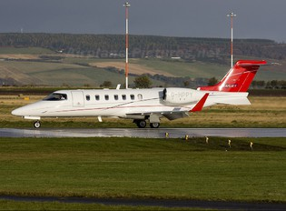 G-HPPY - TAG Aviation Learjet 40