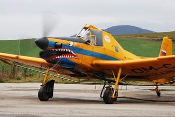 OM-CAA - Private Zlín Aircraft Z-137T Turbočmelák