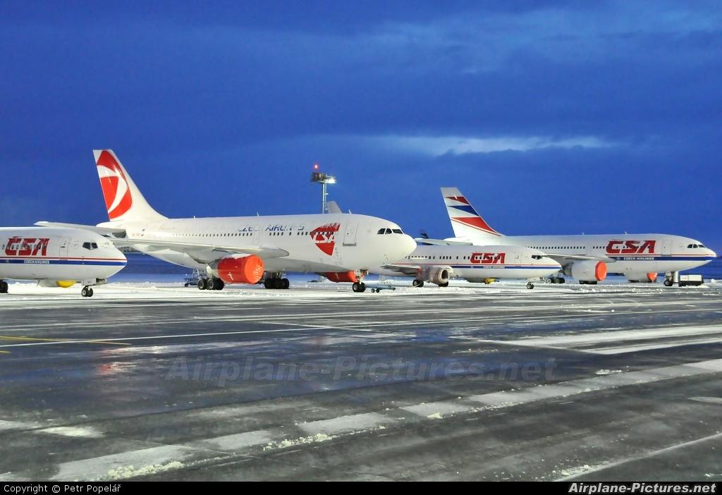 CSA - Czech Airlines OK-YAC aircraft at Prague - Václav Havel