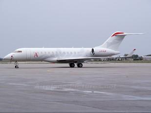 LX-GJM - Private Bombardier BD-700 Global Express