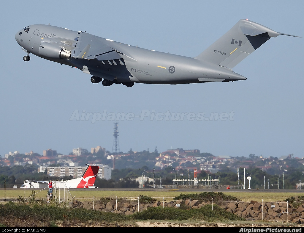 Canada - Air Force 177704 aircraft at Sydney - Kingsford Smith Intl, NSW