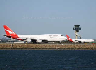 VH-OJD - QANTAS Boeing 747-400
