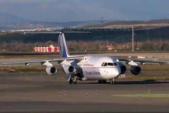 OO-DWL - Brussels Airlines British Aerospace BAe 146-300/Avro RJ100