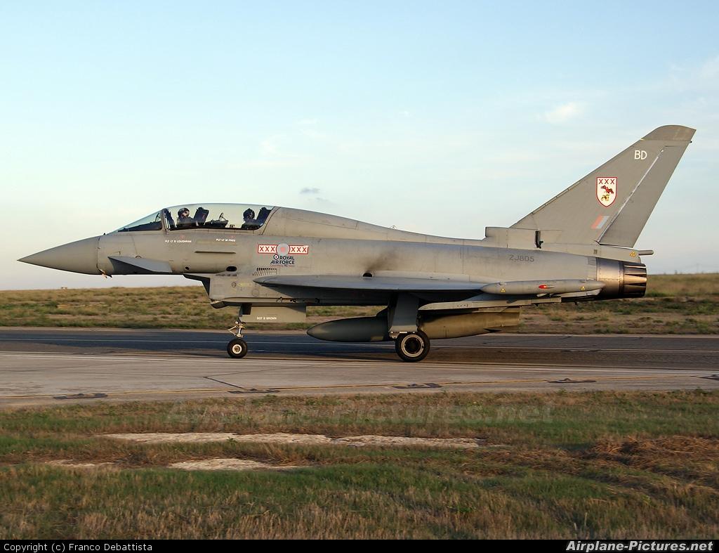 Royal Air Force ZJ805 aircraft at Malta Intl