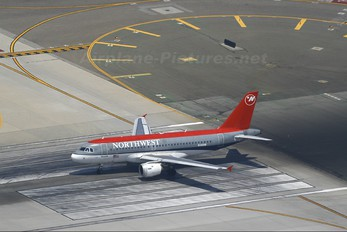 N340NB - Northwest Airlines Airbus A319