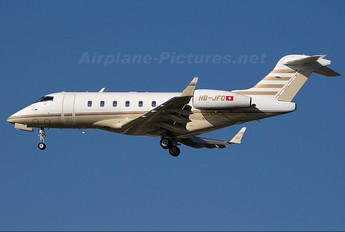 HB-JFO - TAG Aviation Bombardier BD-100 Challenger 300 series