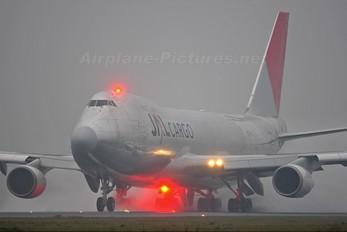 JA402J - JAL - Cargo Boeing 747-400F, ERF