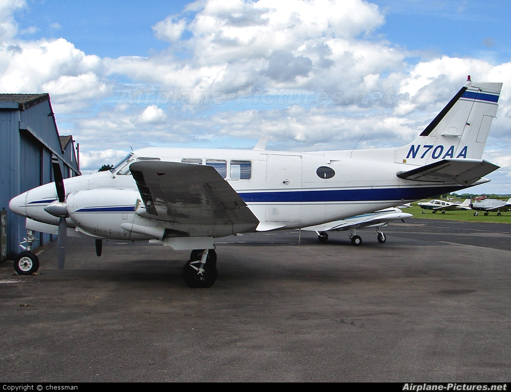 Private N70AA aircraft at Wellesbourne Mountford