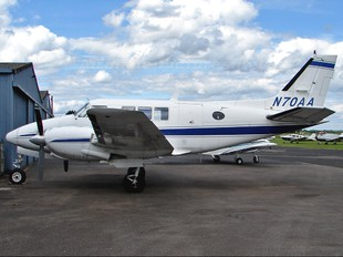 N70AA - Private Beechcraft 70 Queen Air
