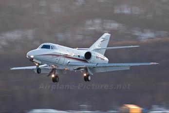 VP-BAF - Private Dassault Falcon 100