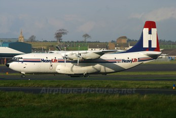 9L-LDQ - HeavyLift Cargo Airlines Short SC.5 Belfast C.1