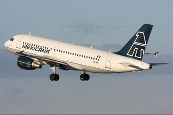XA-MXI - Mexicana Airbus A319