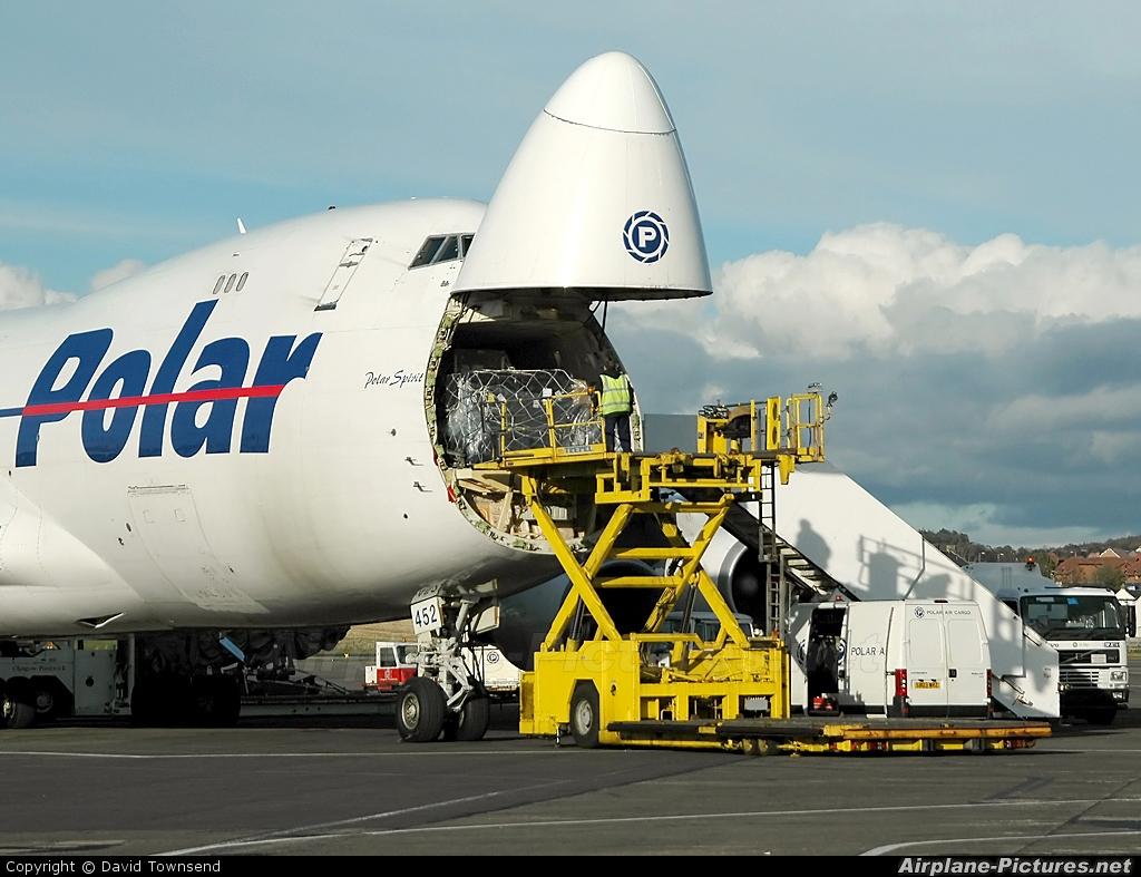 Polar Air Cargo N452PA aircraft at Prestwick