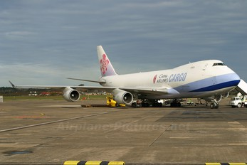 N497MC - China Airlines Cargo Boeing 747-400F, ERF