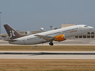 OY-JTA - Jet Time Boeing 737-300