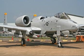 79-0207 - USA - Air Force Fairchild A-10 Thunderbolt II (all models)