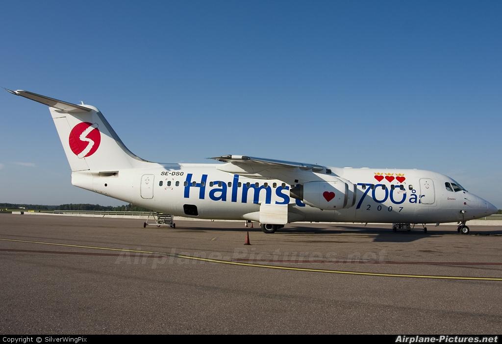 Skyways SE-DSO aircraft at Stockholm - Arlanda