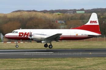 EC-GSJ - DHL Cargo Convair CV-580