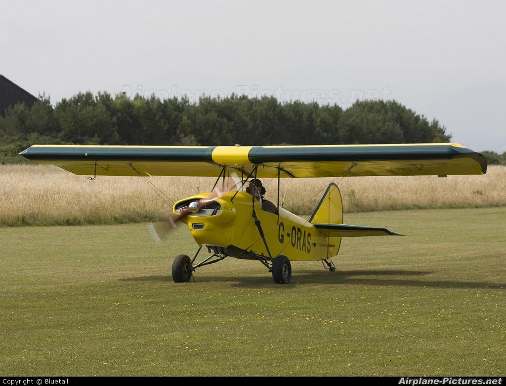 Private G-ORAS aircraft at Dornoch